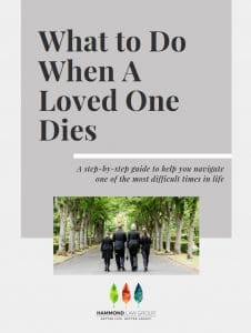 The resource what to do when a loved one dies